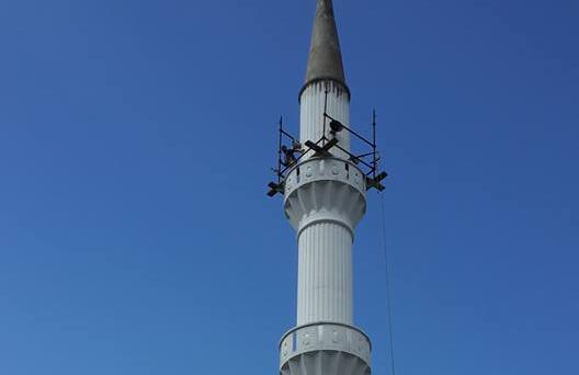 Merkez Camimizin Minaresi Boyan�yor