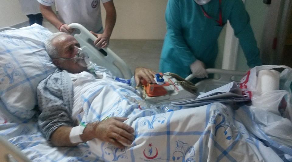 Salih KADI Hastanede Yatıyor