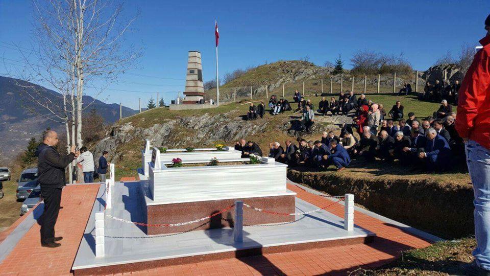Yukarıköy' de Şehitlerimizi Anma Programı