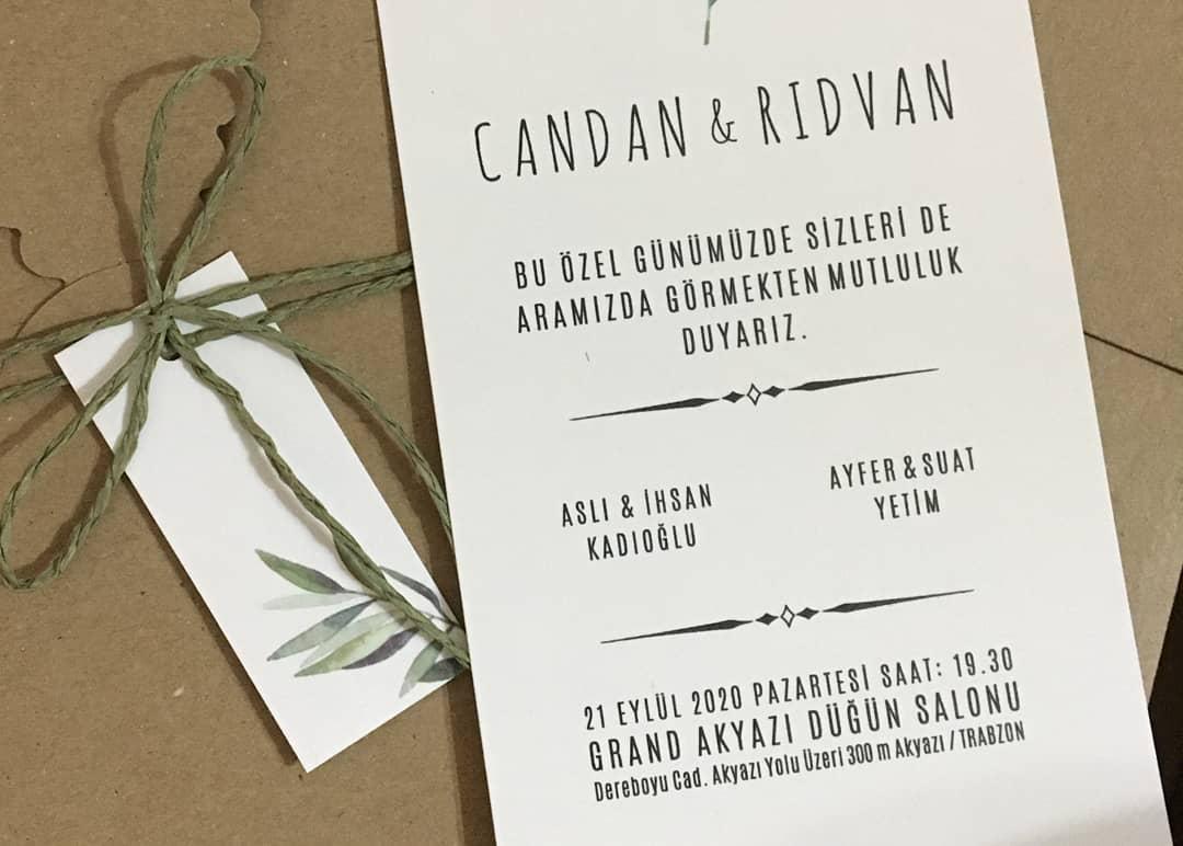 Candan & Rıdvan Evleniyor (DAVETİYE)