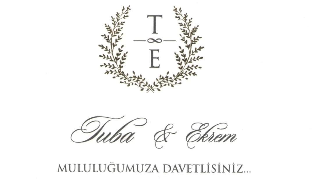Tuba & Ekrem Evleniyor (DAVETİYE)