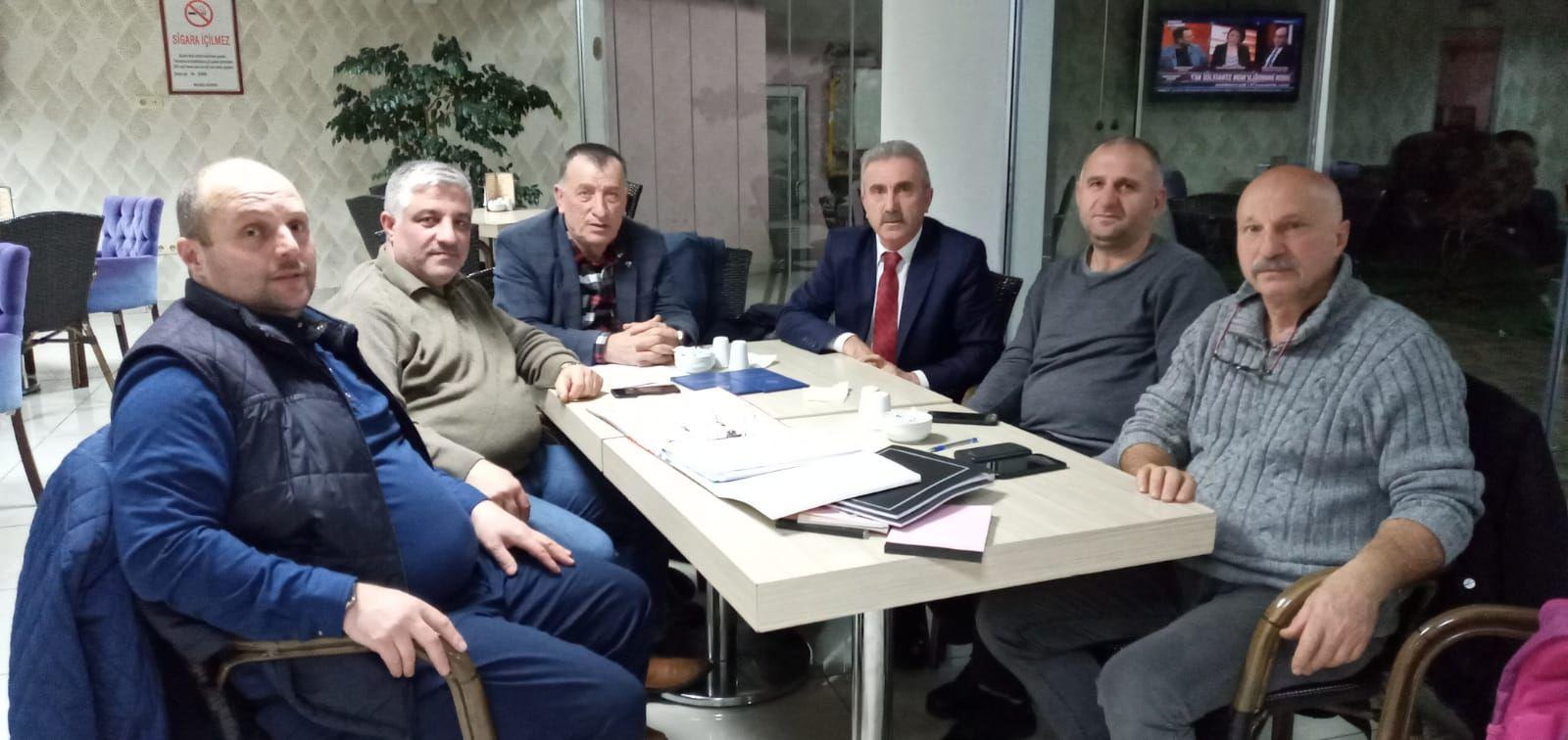 Yukarıköy Köy Derneği Toplantısı Yapıldı