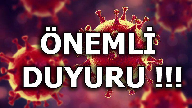 Yukarıköy'de Koronavirüs Önlemleri