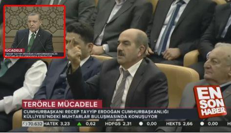 Salih AVCI, Cumhurba�kan�m�z' a ne sordu?