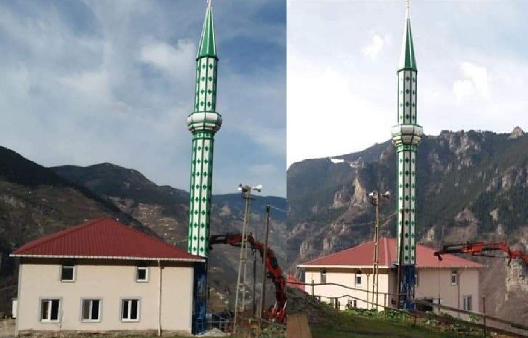 Çayırlık Camimizin Minaresi Tamam
