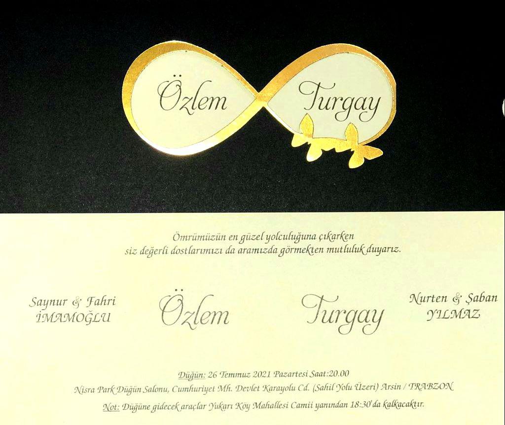 Özlem & Turgay Evleniyor (DAVETİYE)