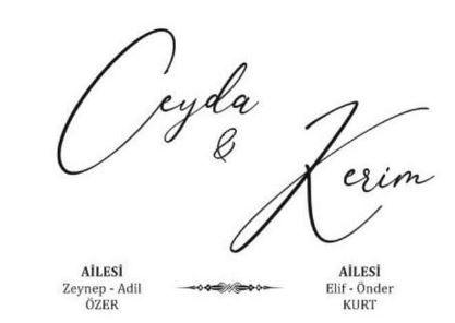 Ceyda & Kerim Evleniyor ( DAVETİYE)