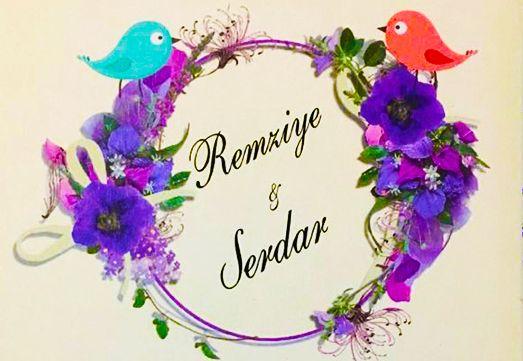 Remziye & Serdar Nişanlanıyor (DAVETİYE)