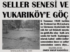 Yukarıköy Köyü Tarihi- 3 (Seller Senesi)