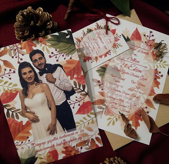 Yağmur Damla & Volkan Evleniyor (DAVETİYE)